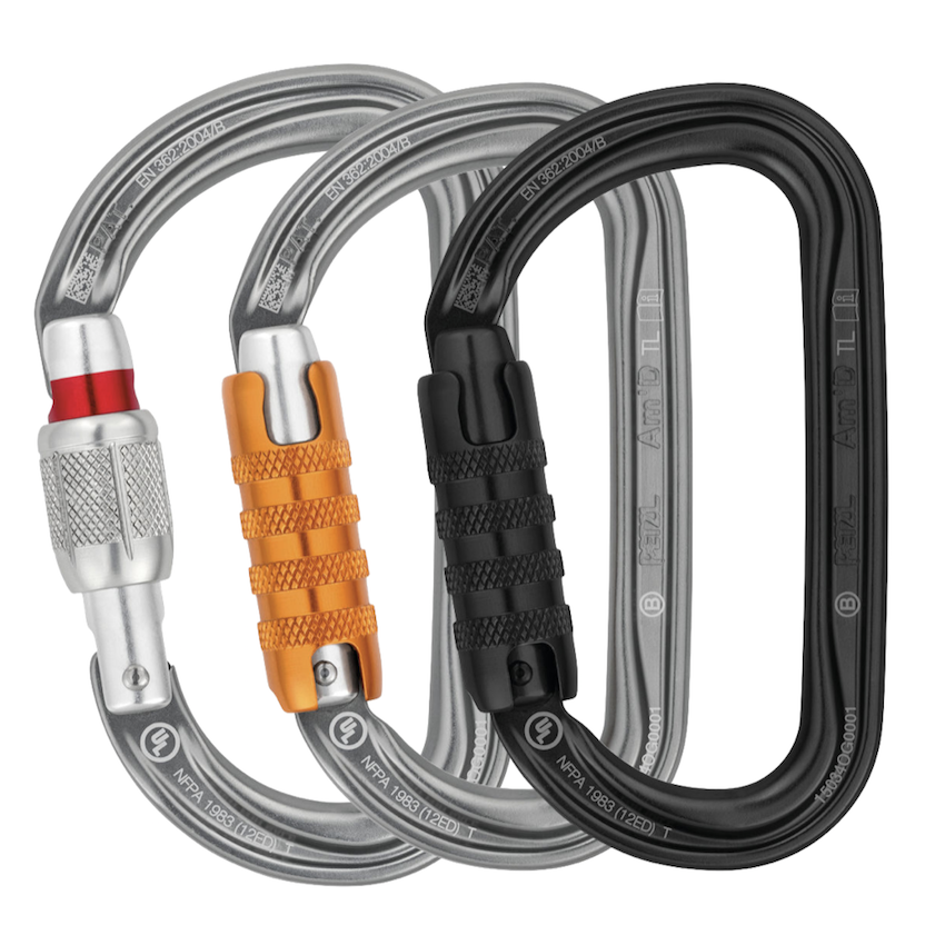 Petzl Am D Carabiner Safety Access Rescue