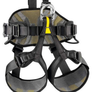 Close-up of Petzl AVAO Bod Harness