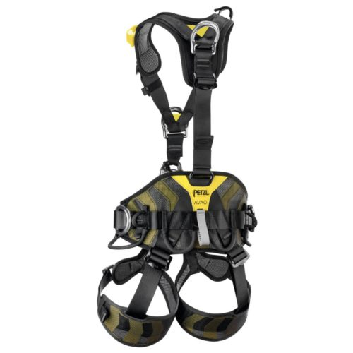 Back of Petzl AVAO Bod