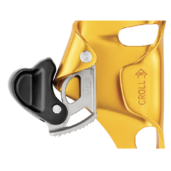 Petzl Croll with opened Catch