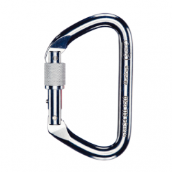 SMC Large Aluminium Screw-lock carabiner