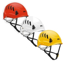 The Petzl Alveo Vent is available in three colours - red, white and yellow.