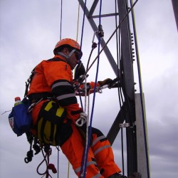 Tower climbing training