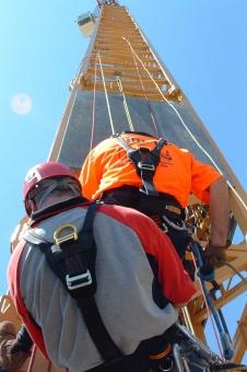 Crane Rescue Training