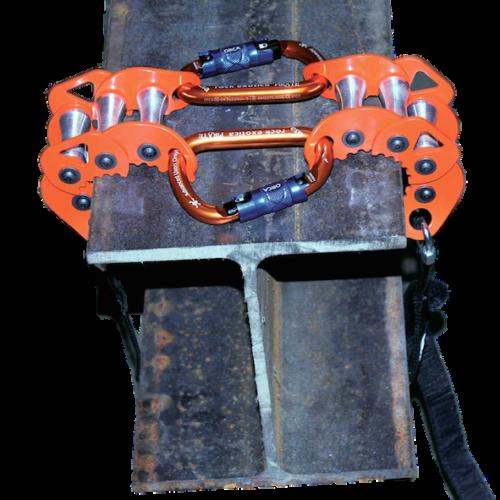 Clampbot on beam