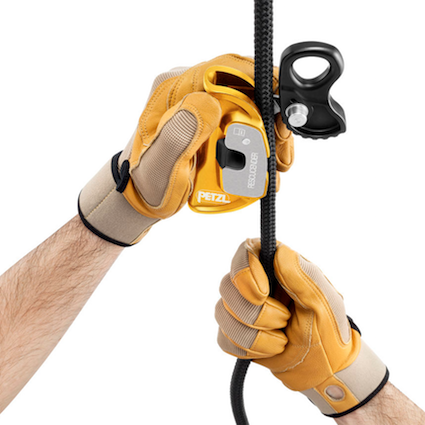 Petzl Rescucender, use