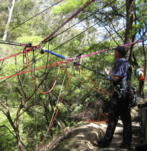 Rope Access for Natural Surface Work