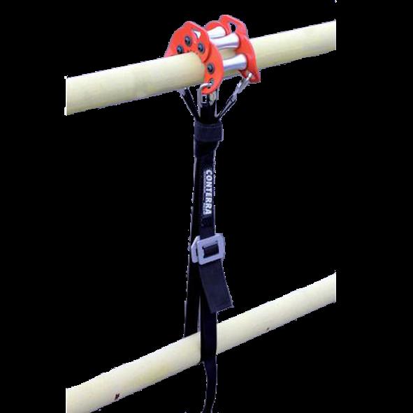 Conterra Rail Roller attachment in use.
