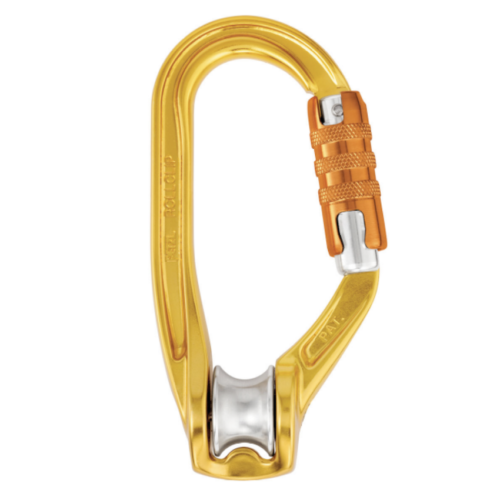 The Petzl Rollclip triact-lock version.