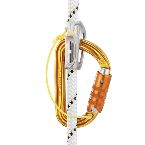 Petzl Sm'D with Tiblock