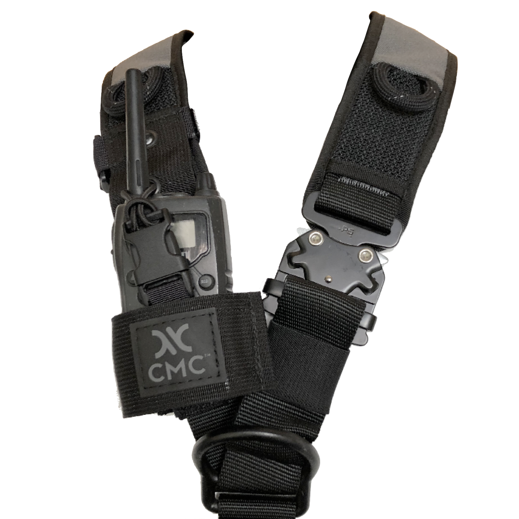 Cmc Radio Holster Safety Access Rescue. Cmc Radio Holster On Harness. Wiring. Leather Harness Radio Holster At Scoala.co
