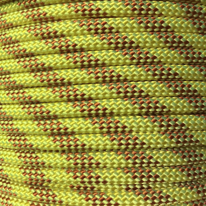 Bluewater accessory cord 8mm yellow