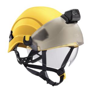 Vertex helmet with accessories