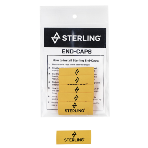 Sterling Rope End Caps